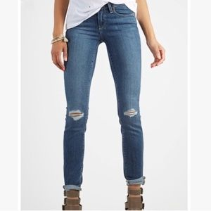 Paige Kylie Crop Destroyed Jeans